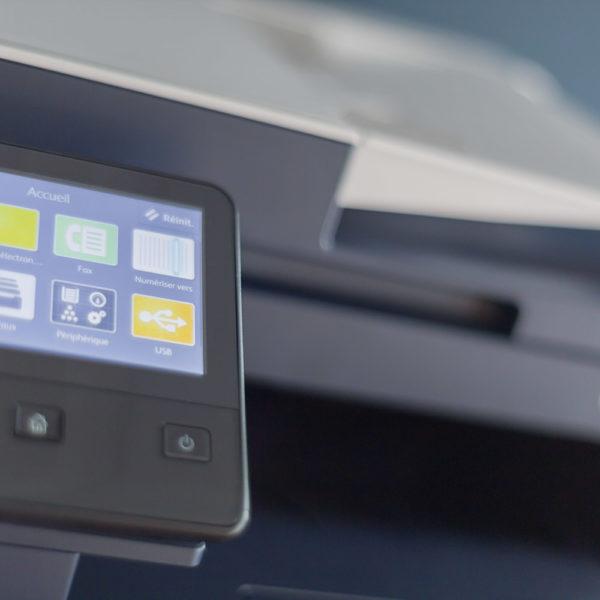 Imprimante copieur partagée en libre accès - Coworking à La Rochelle