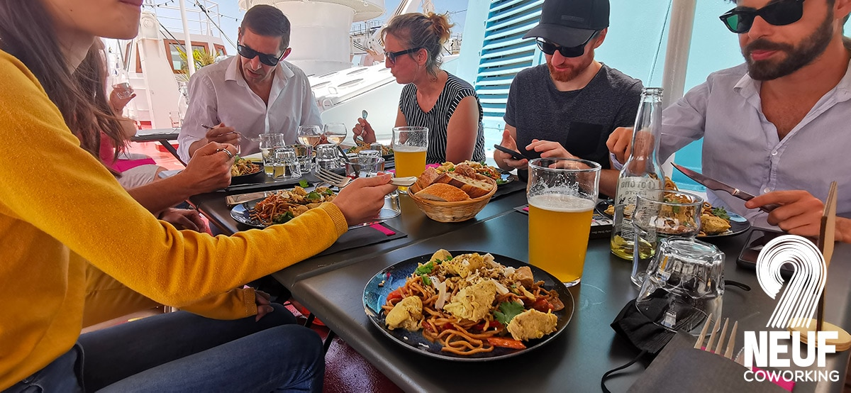 La Rochelle coworking repas